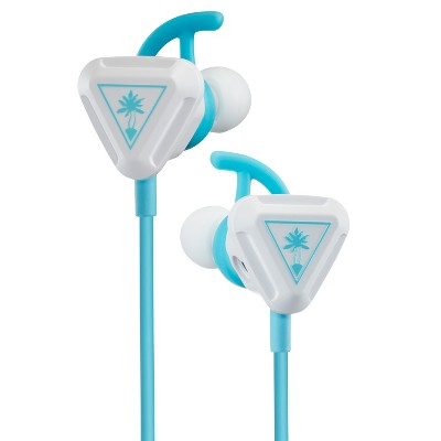 Turtle Beach Battle Buds In-Ear Gaming Headset for Nintendo Switch/Xbox One/Series X/S/PlayStation 4/5 - White/Teal