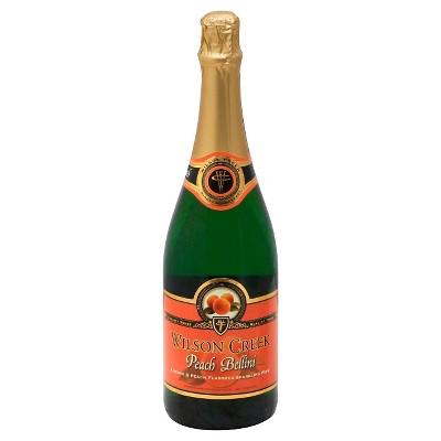 Wilson Creek Peach Bellini Sparkling Wine - 750ml Bottle