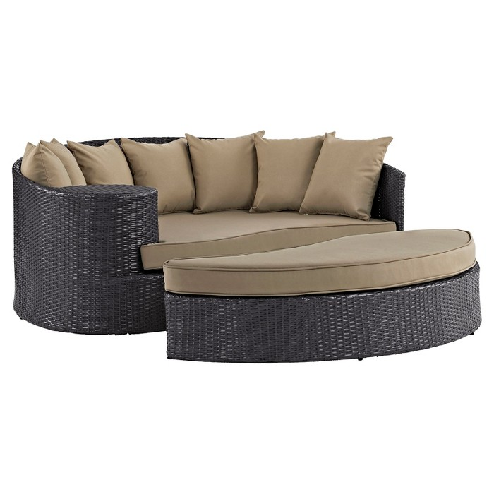 Convene Outdoor Patio Daybed - Modway - image 1 of 4