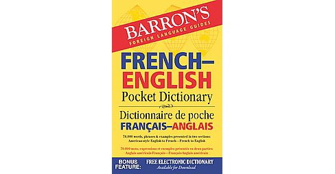 Barron's French-English Pocket Dictionary (Bilingual) (Paperback) - image 1 of 1