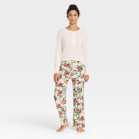 Women's Henley Pajama Set - Stars Above™ - image 1 of 3