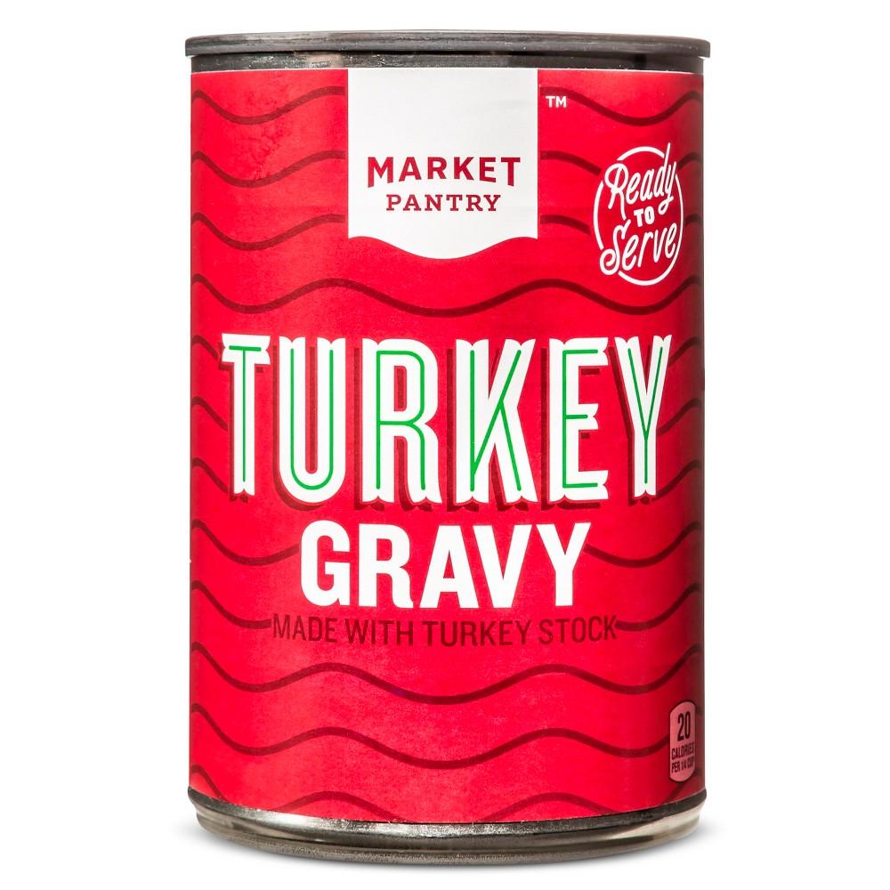 Ready To Serve Turkey Gravy 10.5 oz - Market Pantry