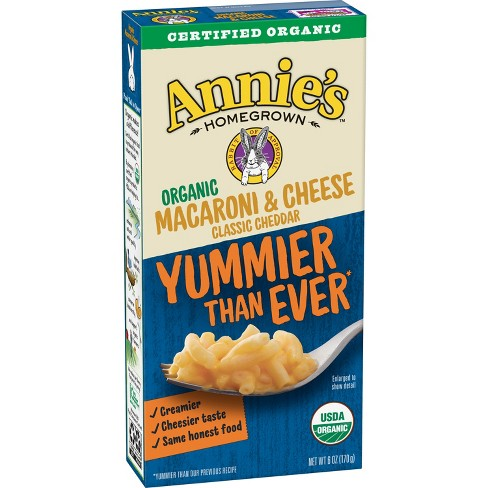 Annie's® Homegrown Organic Macaroni & Cheese Classic  6oz - image 1 of 5