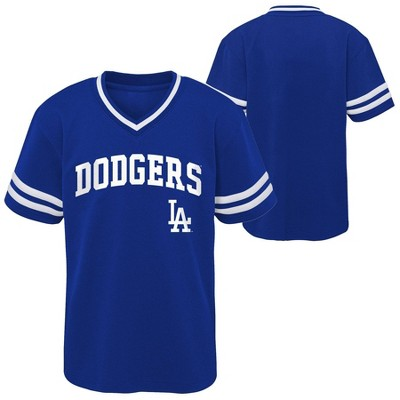 MLB Los Angeles Dodgers Toddler Boys' Pullover Jersey