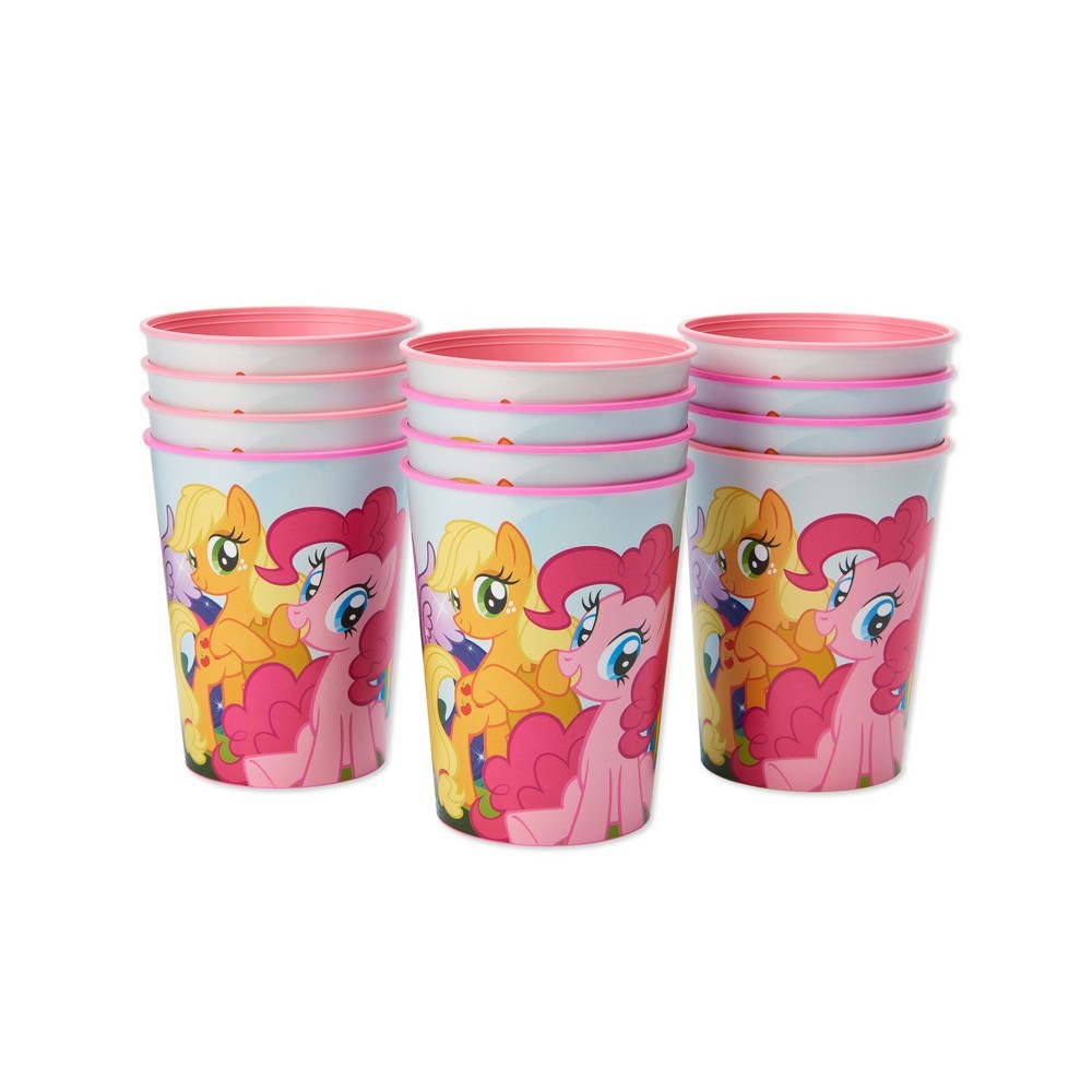 Image of 12ct My Little Pony Plastic Party Cups