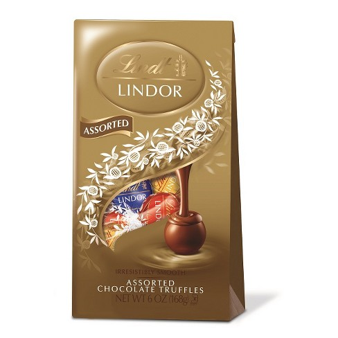 Lindt Lindor Assorted Chocolate Truffles - 6oz - image 1 of 3
