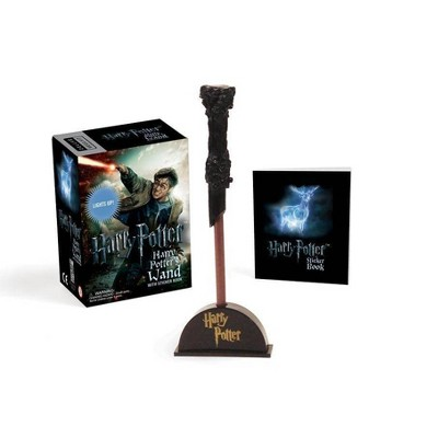 Harry Potter Wizard's Wand with Sticker Book - (Rp Minis) (Paperback)