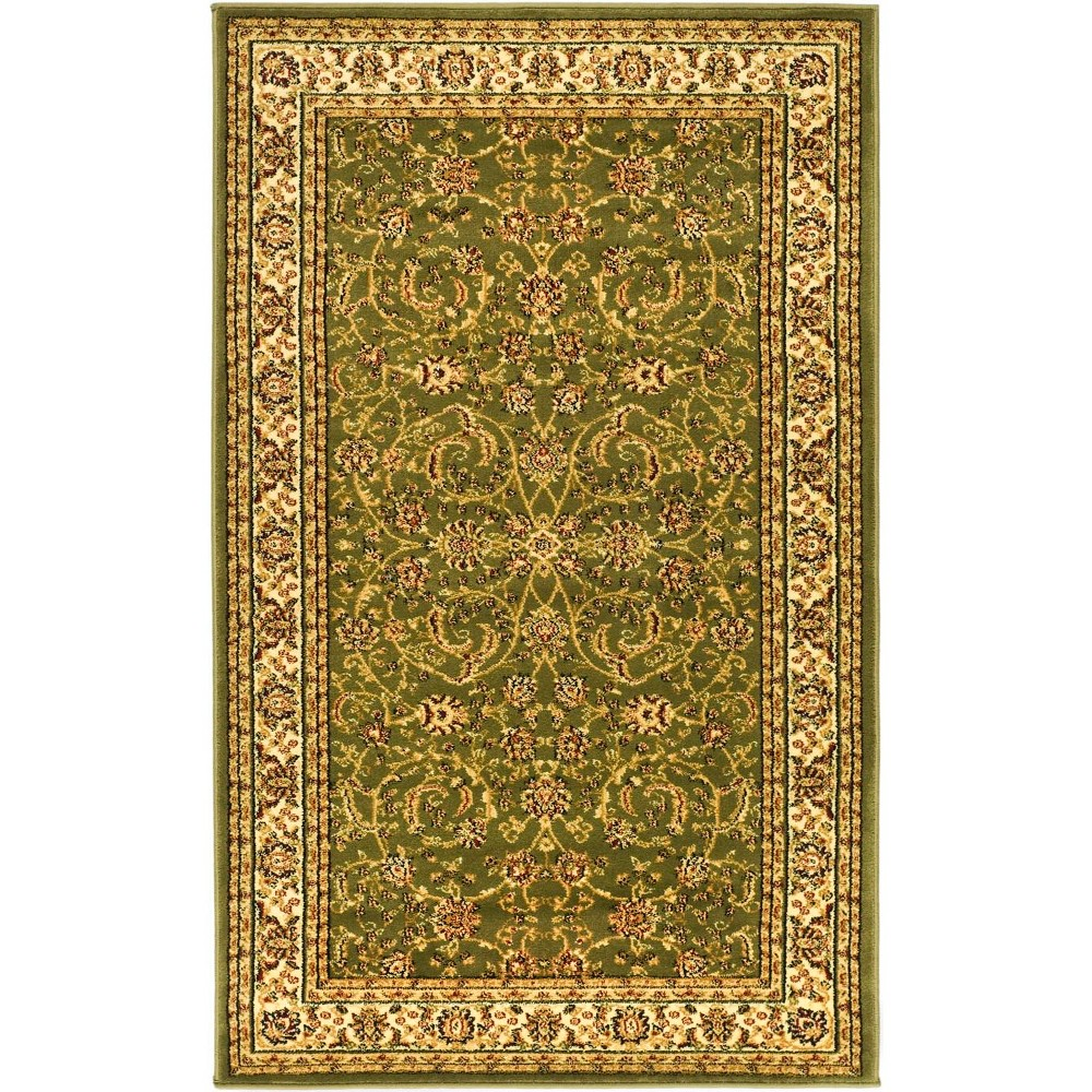 33X53 Loomed Medallion Accent Rug Sage/Ivory - Safavieh Discounts