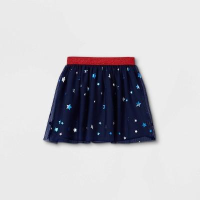 Girls' 4th of July Tutu Skirt - Cat & Jack™ Navy
