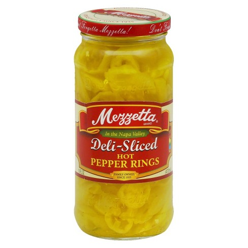 Mezzetta® Hot Banana Pepper Rings - 16oz - image 1 of 1