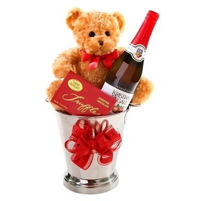 Alder Creek Gifts Toasting Love Gift Basket