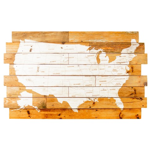 "Wood USA Wall Décor Brown (38""x23"") - VIP Home & Garden - image 1 of 1"