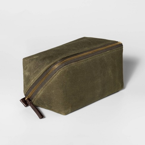 Men's Olive Diagonal Zip Kit - Goodfellow & Co™ - image 1 of 4