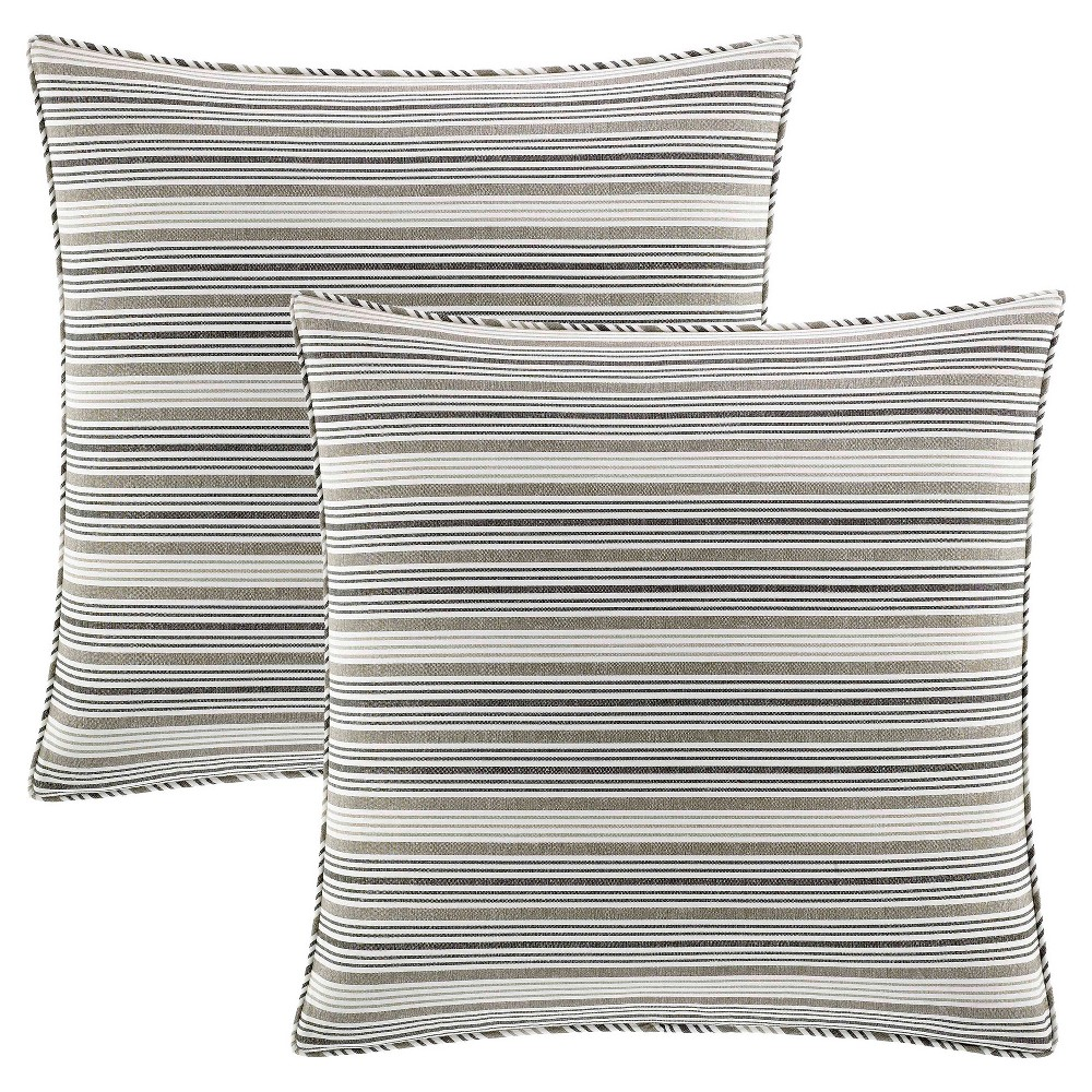 Willlow Euro Pillow Sham (Set of 2) - Stone Cottage