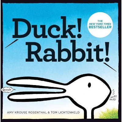 Duck! Rabbit! - by  Amy Krouse Rosenthal (Board Book)
