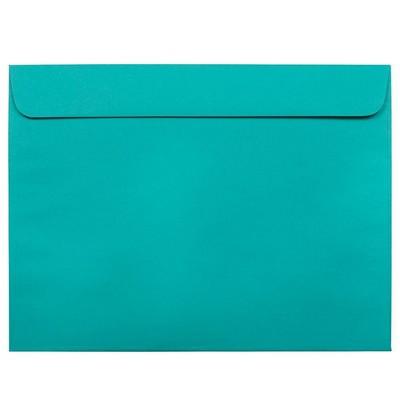 JAM Paper 50pk 9 x 12 Booklet Envelopes - Sea Blue Recycled
