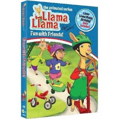 Llama Llama: Fun with Friends with Happy Birthday Llama Llama Book (DVD)(2021)
