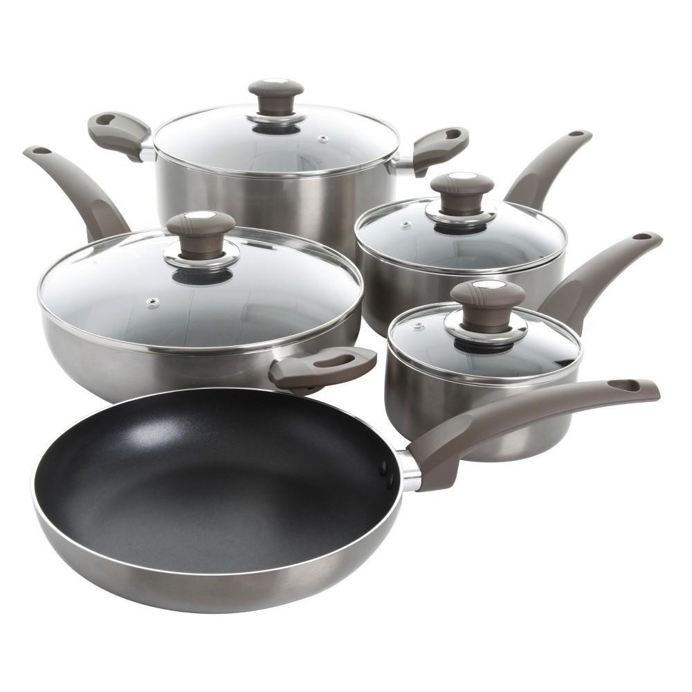 Cookware Set Oster, Gray, Cookware Sets