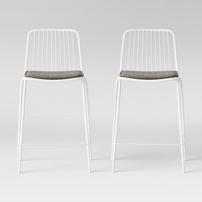 Set of 2 Sodra Square Seat Wire Counter Height Barstool - Project 62™