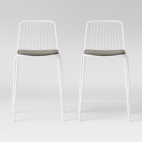 Set of 2 Sodra Square Seat Wire Counter Stool - Project 62™ - image 1 of 4