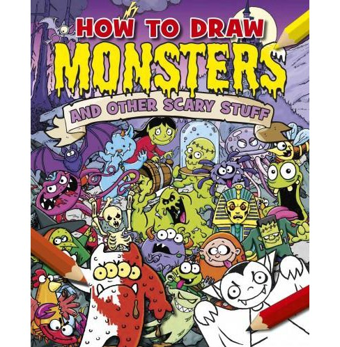 How to Draw Monsters and Other Scary Stuff (Paperback) (Paul Gamble) - image 1 of 1