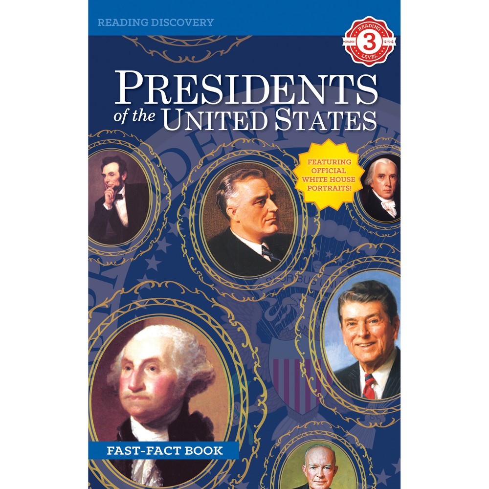 8pk Leveled Readers Presidents of the United States - Grade 2-4 - Bendon