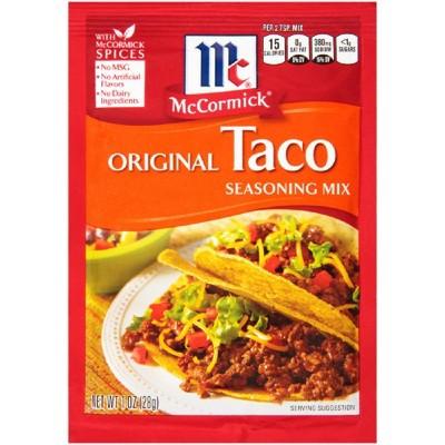 McCormick® Original Taco Seasoning Mix 1.25oz