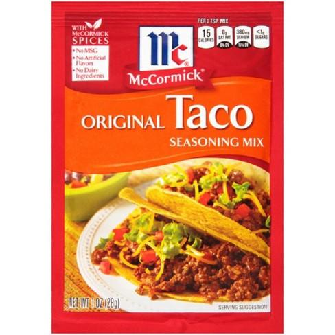 McCormick® Original Taco Seasoning Mix 1.25oz - image 1 of 5