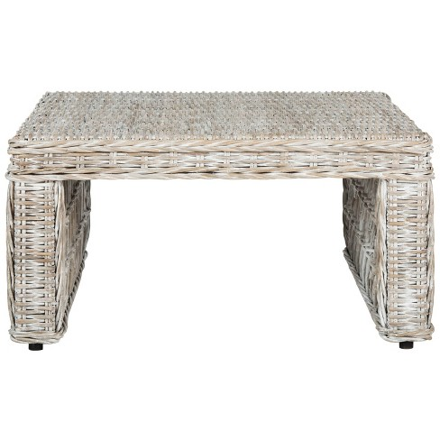 Coffee Table White - Safavieh - image 1 of 6