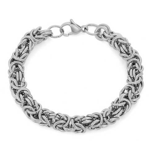Byzantine Bracelet In Stainless Steel - image 1 of 1