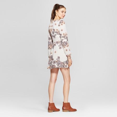 3fc170a1f6ca Women s Floral Print Smocked Waist Dress - 3Hearts...   Target