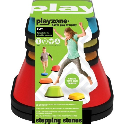 Playzone-Fit Set of 5 Balance Stepping Stones for Active Play - image 1 of 4