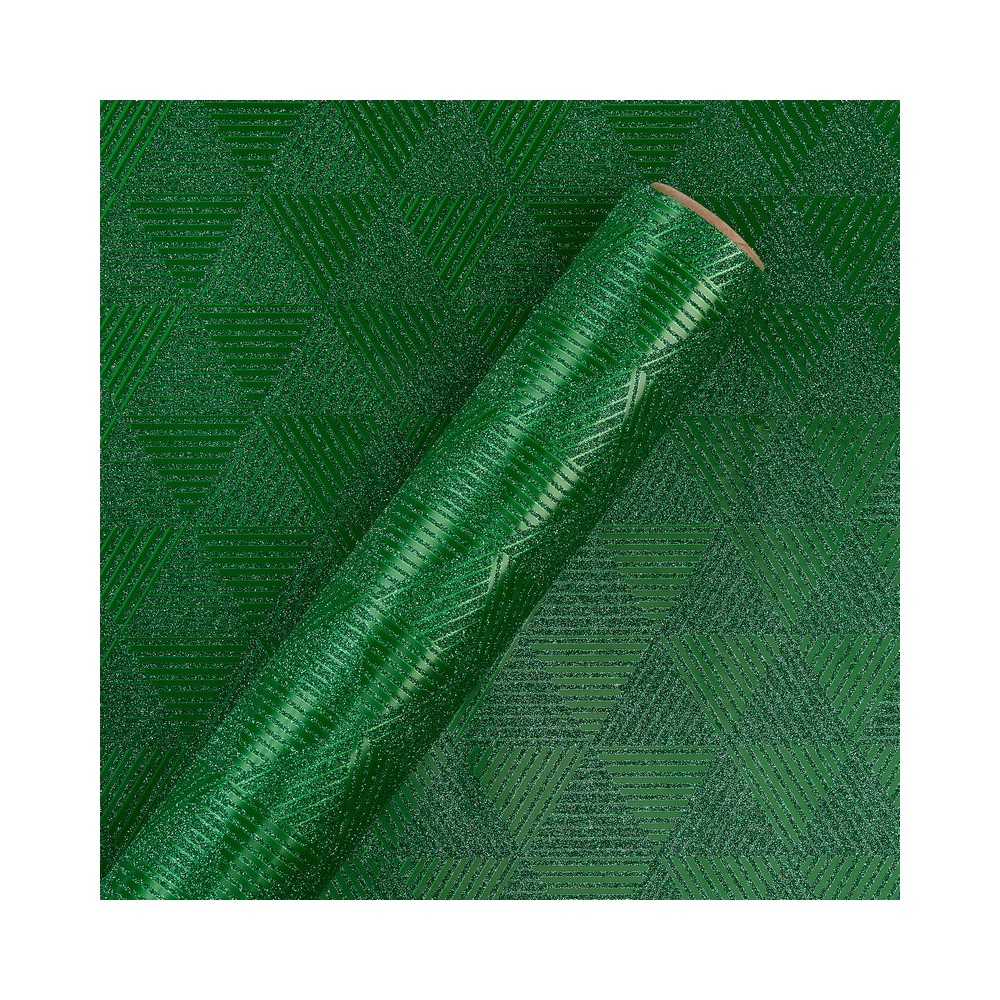 Papyrus Tonal Green Pattern Wrapping Paper, Multi-Colored