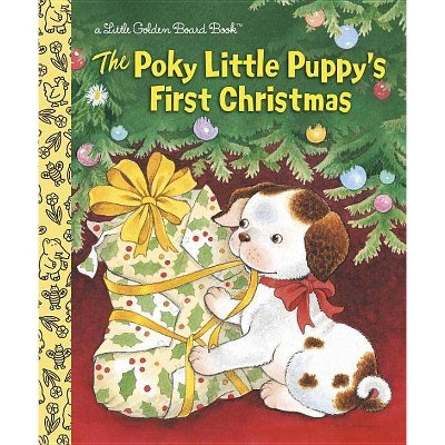 The Poky Little Puppy's First Christmas - (Little Golden Books)by Justine Korman (Board_book)