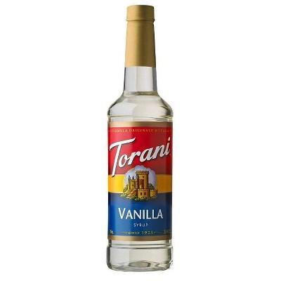 Torani Vanilla Syrup - 12.7 fl oz