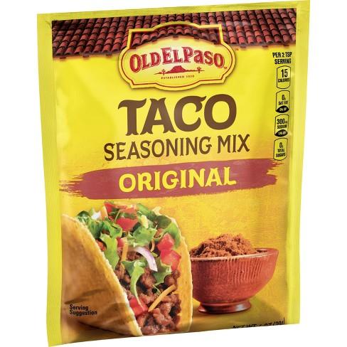 Old El Paso Taco Seasoning Mix Original 1oz - image 1 of 3