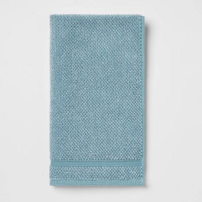 Performance Texture Hand Towel Aqua - Threshold™