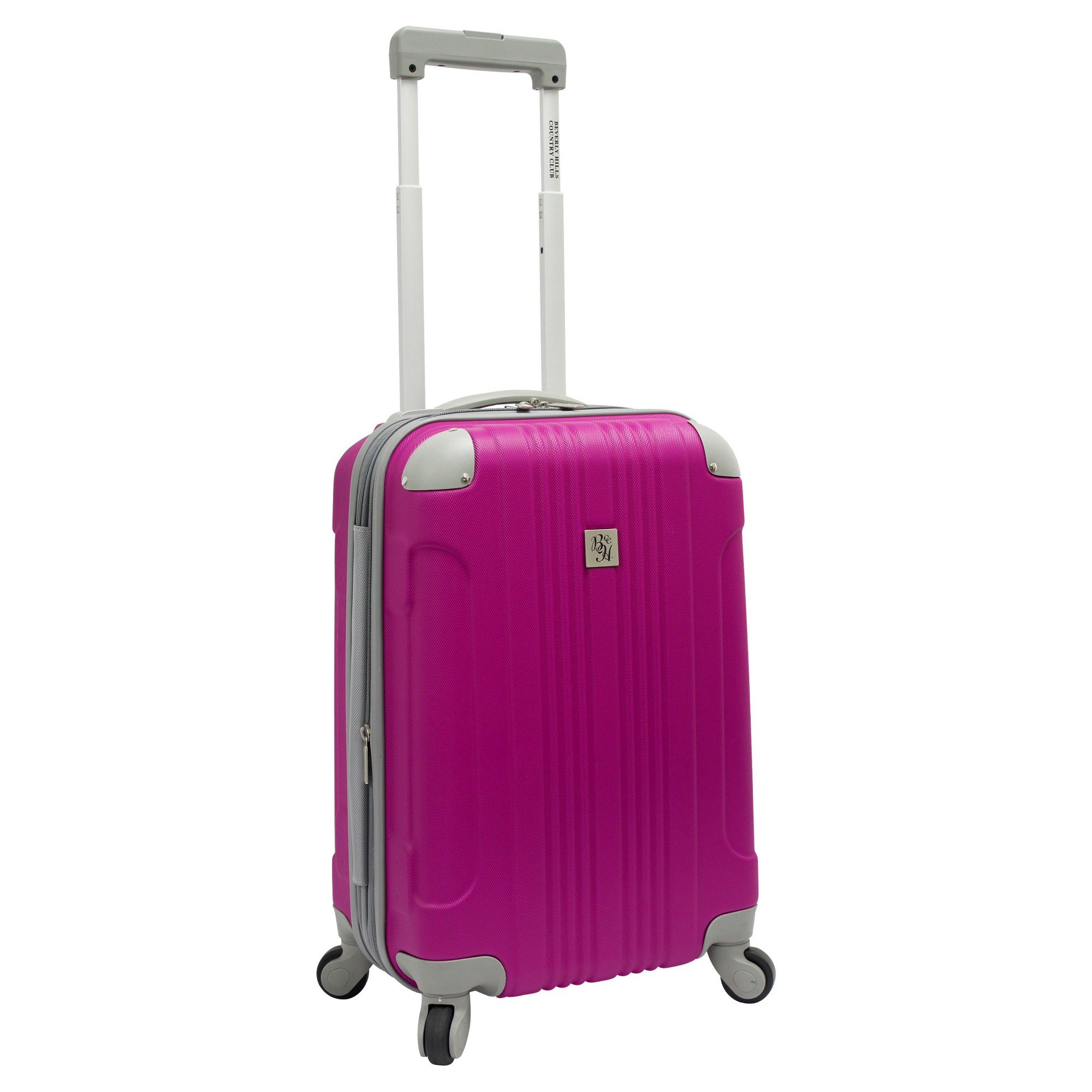 Beverly Hills Country Club Newport 21 Hardside Spinner Suitcase - Magenta (Pink)