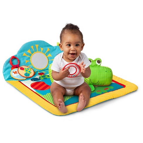 *new* Bright Star Cuddly Crocodile Baby Gear Baby
