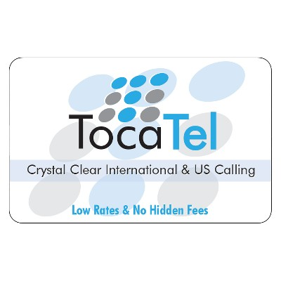 Tocatel International Prepaid Card (Email Delivery)