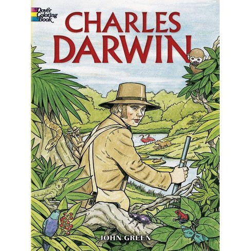 Charles Darwin - (Dover Coloring Books) by  John Green (Paperback) - image 1 of 1