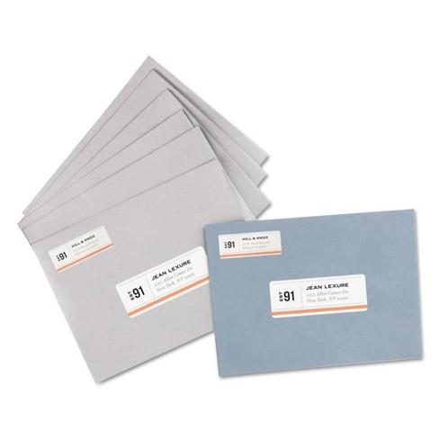 avery address labels 1 x 2 5 8 white 7500 box target