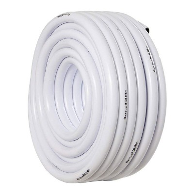 Active Aqua HGTB75WB 3/4 Inch Inside Diameter Vinyl Tubing for Indoor Vegetation Growing Hydroponic Irrigation Systems and Tanks, 100 Feet, White
