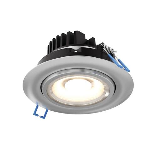 "DALS Lighting GMB4-3K LED Gimbal 4"" Adjustable Recessed Fixture - 3000K & 810 Lumens - image 1 of 1"