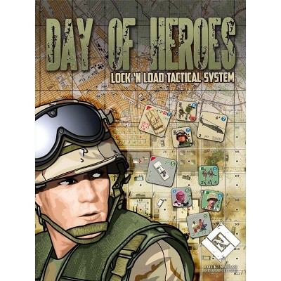 Day of Heroes - Lock 'n Load Tactical System (3rd Printing) Board Game