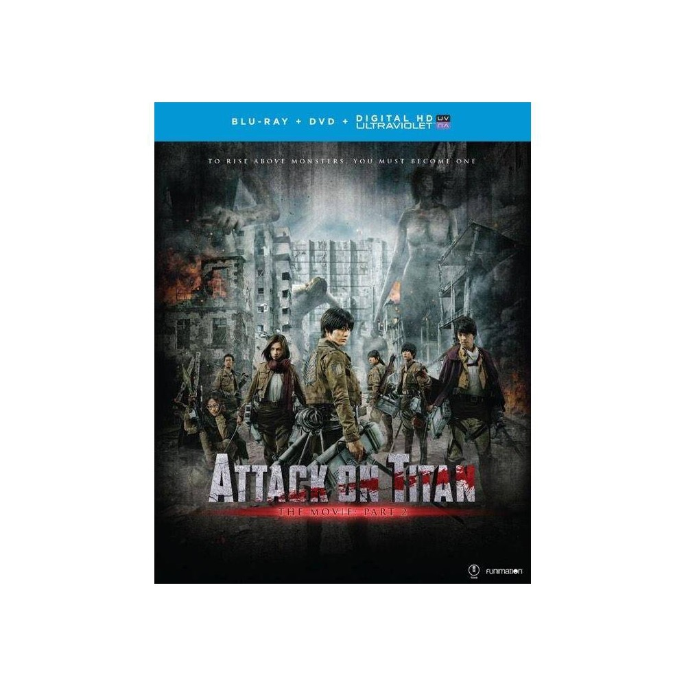 Attack On Titan Part 2 Blu Ray 2014
