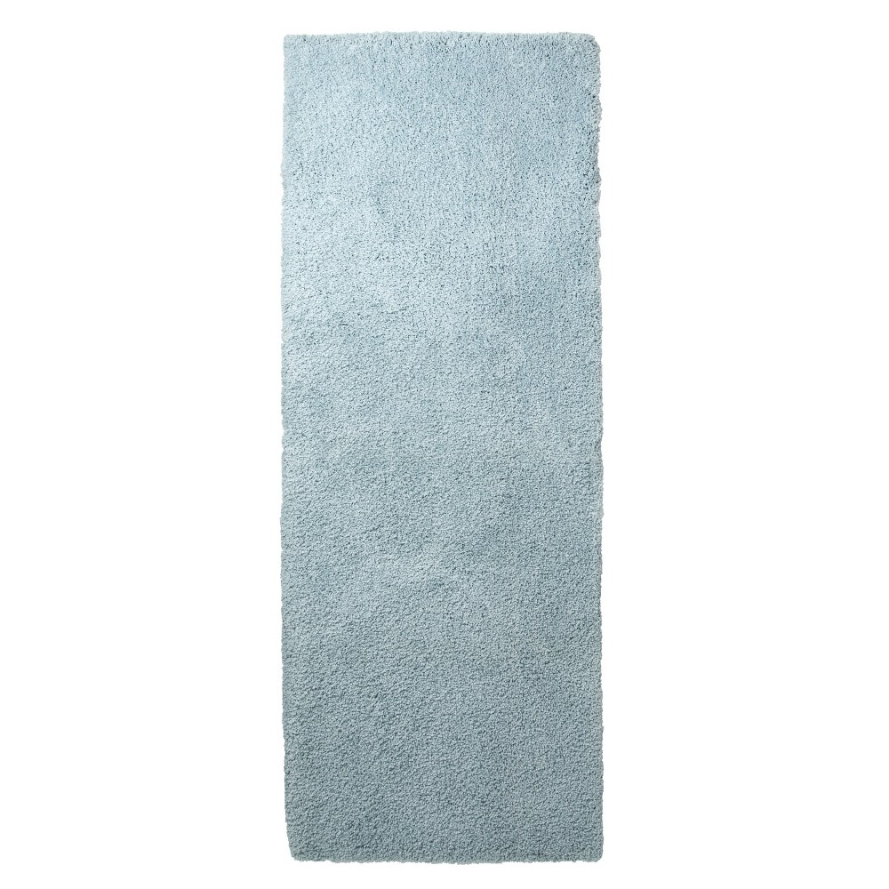 Bath Runner - Aqua Spill (60x22) - Fieldcrest, Blue