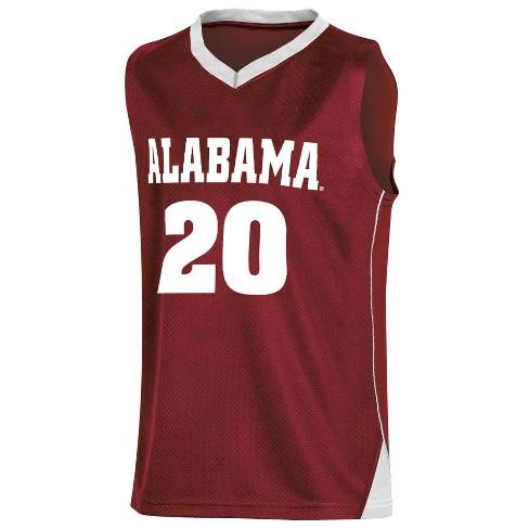 NCAA Alabama Crimson Tide Boys' Basketball Jersey - XS