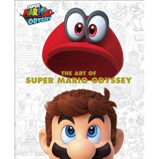 The Art of Super Mario Odyssey - (Hardcover)