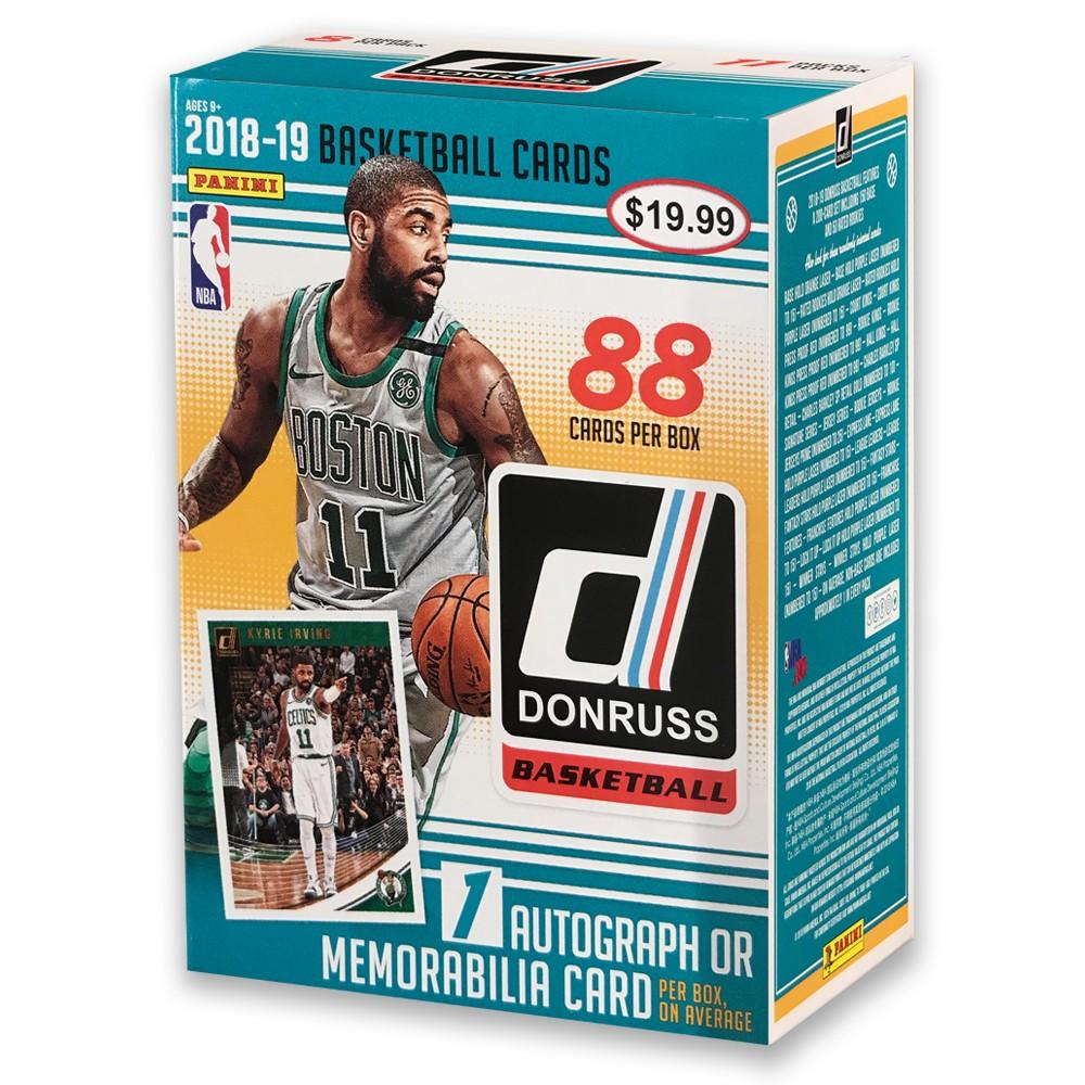 Panini 2018-19 NBA Donruss Basketball Trading Card Blaster Box